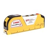 JY-02 8-Foot 2.5m Measuring Tape Laser Level Pro3 Measuring Equipment with 2 Way Level Bubbles and Laser Power On/Off
