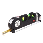 JY-03 8 Foot (2.5m) Measuring Tape Laser Level Pro3 Measuring Equipment with 3 Way Level Bubbles and Laser Power On/Off
