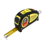LV-05 18-Foot  5.5m Measuring Tape Laser Level Pro3 Measuring Equipment with 2 Way Level Bubbles and Laser Power On/Off