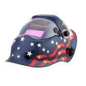 Professional blue Eagle Solar Welding Helmet Auto Darkening Welding Mask
