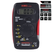 AIMO M300 Mini Handheld Digital LCD Multimeter High Safety DMM Meter Ammeter Voltmeter Ohmmeter