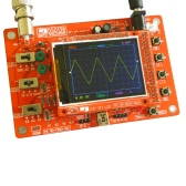 "DSO138 2.4"" TFT Handheld Pocket-size Digital Oscilloscope Kit DIY Parts Electronic Learning Set 1Msps"