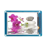 "3.2"" 262K TFT LCD Display Module with Touch Panel White Backlight"