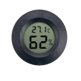 Portable Mini Digital Temperature Humidity Tester Meter Thermometer Hygrometer LCD Display Black