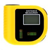18m Digital Handheld Ultrasonic Distance Meter Range Finder Measure Diastimeter with Laser Point