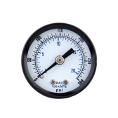 0-20bar 0-300psi Mini Dial Air Pressure Gauge Meter Piezometer Double Scale