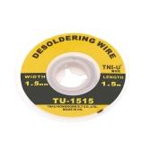 TNI-U TU-1515 1.5mm Solder Wick Precision Desoldering Wire Braid Handy Soldering Wick