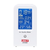UNI-T UT-338C High Precision Indoor VOC PM2.5 Data Logger Detector Air Monitor Thermometer Hygrometer