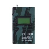 RK560 50MHz-2.4GHz Portable Handheld Frequency Meter Counter DCS CTCSS Radio Testing