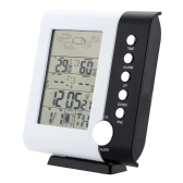 433MHz RF Weather Station Alarm Clock Wireless Digital Thermometer Hygrometer Temperature Humidity Measurement