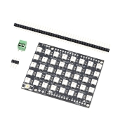 40 Bit 5*8 WS2812B 5050 RGB LED Built-in Full-color Driver Lights Development Board Module