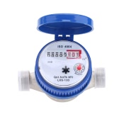 Single Flow Dry Cold Water Table 15mm Garden & Home Water Meter With Free Fittings
