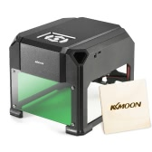 KKmoon AC100-240V 1000mW High Speed Miniature Laser Engraving Machine DIY Tools with 80 x 80mm Engraving Area No Limitation