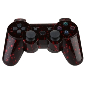 Snowflake  Wireless Bluetooth Game Controllor Bluetooth 4.0 Six Axis Double Vibration Gamepad Game Console for PS3