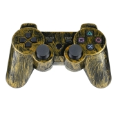 Bronze Wireless Bluetooth Game Controllor Bluetooth 4.0 Six Axis Double Vibration Game   Console Gamepad for Sony PS3