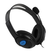 Wired Gaming Headset Bilateral Headphone with Microphone for PS4 PlayStation 4 PC