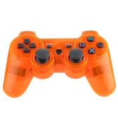 Wireless Bluetooth Game Controllor Bluetooth 4.0 Six Axis Double Vibration Gamepad Game Machine Orange for PS3