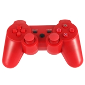 Wireless Bluetooth Game Controllor Bluetooth 4.0 Six Axis Double Vibration Gamepad Game Console Red for PS3
