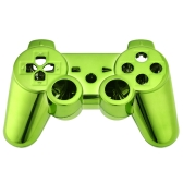 Metal-plated Full Housing Controller Shell Gamepad Shell Cover Case with Matching Buttons Green   for Xbox 360