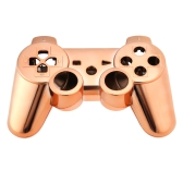 Metal-plated Full Housing Controller Shell Gamepad Shell Cover Case with Matching Buttons Orange for Xbox 360