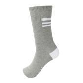 Men Women Unisex Socks Color Block Letter Pattern Breathable Stretchy Casual Warm Winter Long Socks