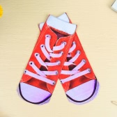 Cute Colorful Cartoon 3D Print Low Cut Ankle Casual Socks for Unisex