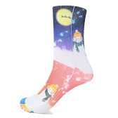 Fashion Women Christmas Socks Santa Claus Snowman Gift Casual Festive Printed Cotton Socks Hosiery