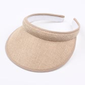 Kids Summer Sun Visors Cap Empty Top Broad Wide Brim Topless Headband Children Hat Headwear