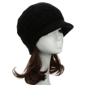 Fashion Women Knitted Beret Crochet Baggy Beanie Winter Warm Hat