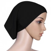 New Fashion Muslim Hijab Turban Islamic Bonnet Underscarf Inner Cap Solid Color Tube Hat Elastic Headwear