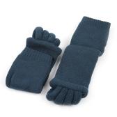Fashion Alignment Hallux Valgus Pro Foot Care Cure Bunion Cotton Five Finger Toe Separator Splint Socks