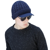 Fashion Men Knitted Beret Crochet Slouch Baggy Beanie Winter Warm Hat Cap Headwear