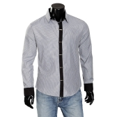 Mens Dress Shirts Stripe