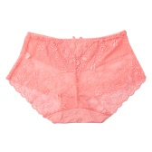Sexy Women Panties Lace Transparent Underwear Soft Briefs Underpants Ultra-Thin Breathable