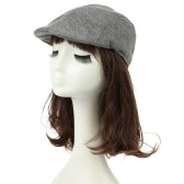 Vintage Unisex Women Men Peaked Hat Casquette Breathable Beret Newsboy Cap Cabbie Headwear