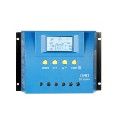 30A 12V/24V Auto LCD Solar Charge Controller Load Battery Regulator Dual USB 5V Output Overload Protection