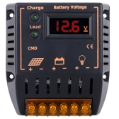 10A 12V/24V LCD Display Solar Charge Controller Auto Regulator Solar Panel Battery System Overcharge Protection