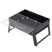 High-quality Folding Picnic BBQ Grill Portable Garden Charcoal barbecue Grill Broiler Outdoor Cooking Tool