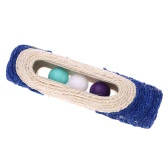 Cute Sisal Pet Kitten Dog Cat Scratcher Scratching Product Durable Cat Rolling Ball Toy Pet Supplies
