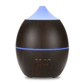 Portable 300ml Essential Oil Aroma Diffuser Cool Mist Maker Ultrasonic Humidifier Air Aromatherapy Atomizer with Multi Color LED Lights for Home Office Study Yoga Spa
