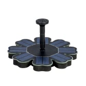 Anself Solar Pump Floating Water Fountain for Bird Bath Pond Garden Decoration 8V 1.6W Solar Panel Water Pump Kit New Version