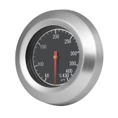 60-430℃ Stainless Steel Analog Thermometer Temperature Gauge for Grill Barbecue Oven Grill Thermometer Bimetal Thermometer