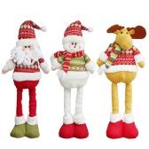Christmas Extendable Standing Doll Toy Santa/Snowman/Reindeer X
