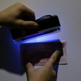 Portable Handheld UV Light Torch Lamp Counterfeit Banknote Paper Currency Money Detector