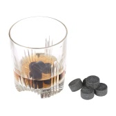 9pcs 18mm Whisky Ice Stones Drinks Beer Cooler Granite Rocks with Pouch