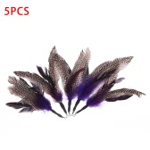 5PCS High-quality Natural Long Feather Pet Kitten Cat Teaser Replacement Feather for Cat Rod Wand