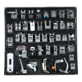 42pcs Professional Domestic Sewing Machine Presser Foot Set Hem Foot Spare Parts Accessories for Brother Singer Feiyue Janome
