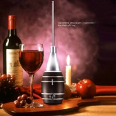 Fast Wine Decanting Red Wine Dispenser Long Handheld Electric Decanter Pumps Absorption Device