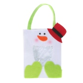 Festnight Lovely Snowman Christmas Gift Candy Cookie Chocolate Bag Festival Decoration