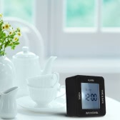 Multi-functional Digital 4 Sided Rotating Alarm Clock Timer Calendar Display Time Date °C/°F Temperature